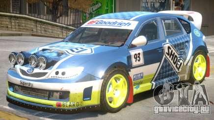 Subaru Impreza Drift V1 PJ2 для GTA 4