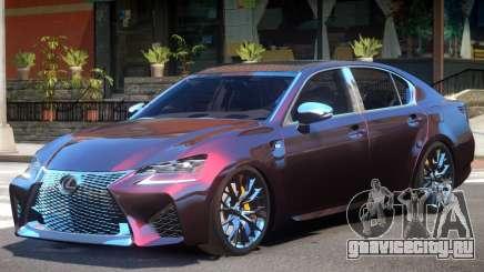 Lexus GS-F V1 для GTA 4