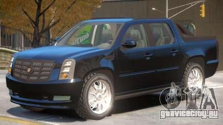 Cadillac Escalade Pickup для GTA 4