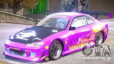 Nissan Silvia S15 V1.0 PJ2 для GTA 4