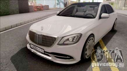 Mercedes-Maybach S650 White для GTA San Andreas