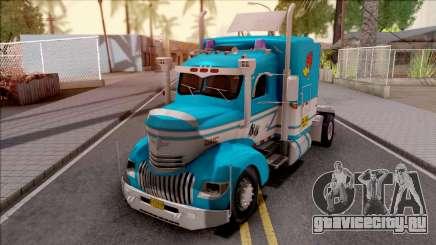 Chevrolet COE Blue для GTA San Andreas