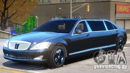 Mercedes S600 Limo для GTA 4