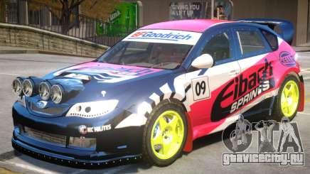 Subaru Impreza Drift V1 PJ4 для GTA 4