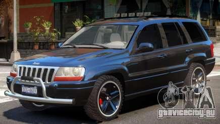 Jeep Grand Cheroke V1 для GTA 4