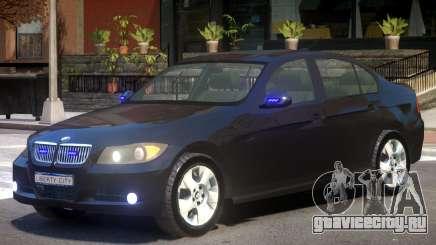 BMW E90 FBI для GTA 4