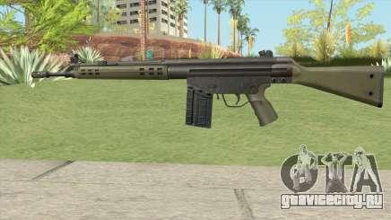 G3 Assault Rifle для GTA San Andreas
