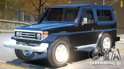 Toyota Land Cruiser 76 V1 для GTA 4
