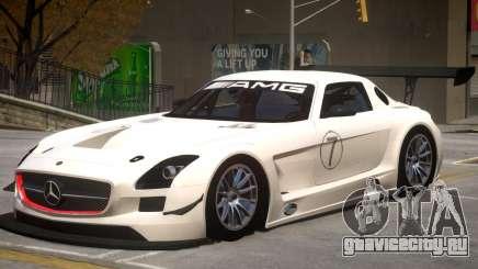 Mercedes Benz SLS GT3 V1 PJ2 для GTA 4