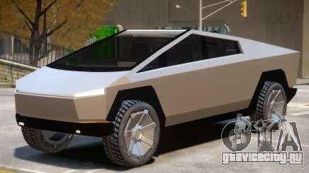 Tesla Cybertruck V1 для GTA 4