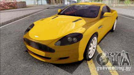 Aston Martin DB9 Full Tunable HQ Interior для GTA San Andreas