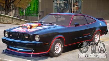 1978 Ford Mustang V1 PJ для GTA 4