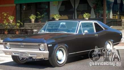 1969 Chevrolet Nova V1 для GTA 4