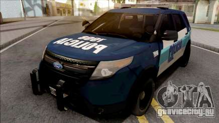 Ford Explorer Policia Federal Argentina для GTA San Andreas