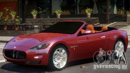 Maserati GranCabrio V1 для GTA 4