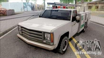 Utility Van CEMIG Energia MG для GTA San Andreas