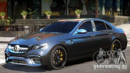 Mercedes Benz E63 Upd для GTA 4
