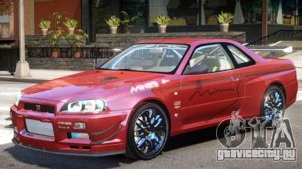 Skyline R34 V1 для GTA 4