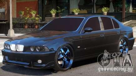 BMW E39 V1.2 для GTA 4