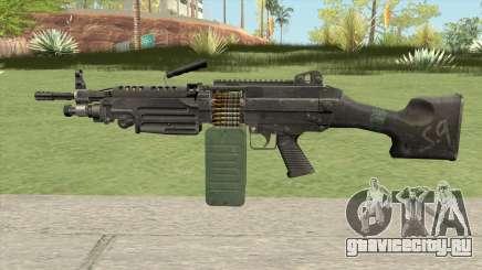 M249 SAW для GTA San Andreas