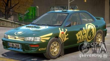Subaru Impreza Rally Edition V1 PJ2 для GTA 4