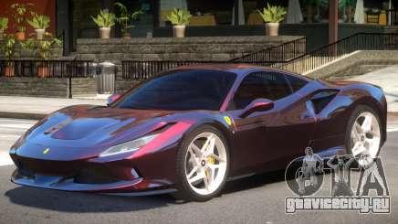 Ferrari F8 Tributo V1 для GTA 4