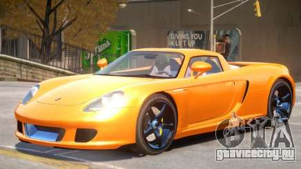 Porsche Carrera GT V1.0 для GTA 4