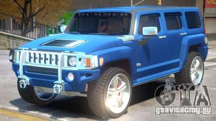 Hummer H3 V1.1 для GTA 4
