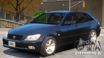 Toyota Altezza V1 для GTA 4