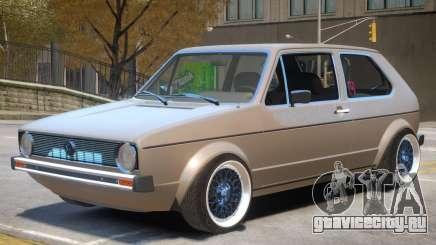 Volkswagen Golf Mk1 Stock для GTA 4
