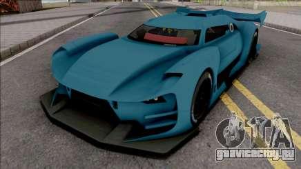 Citroen GT-LM SA Style для GTA San Andreas