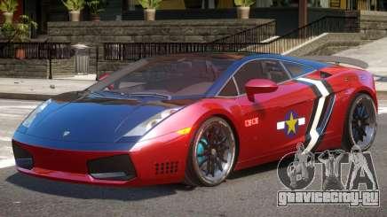 Lambo Gallardo V1.1 PJ3 для GTA 4