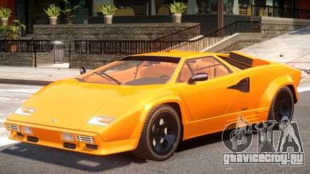 1988 Lamborghini Countach для GTA 4
