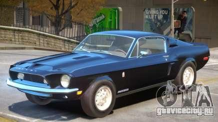 1968 Ford GT500 V1 для GTA 4