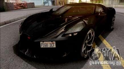 Bugatti La Voiture Noire 2019 Black для GTA San Andreas