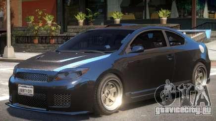 Toyota Scion Tuned для GTA 4