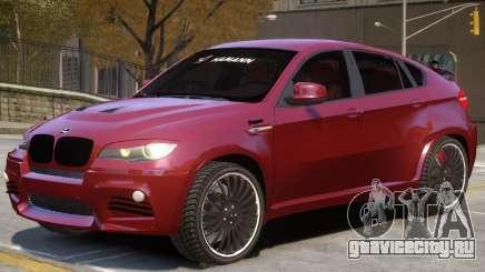 BMW X6 NR для GTA 4