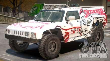 Hummer H3 V1 PJ3 для GTA 4