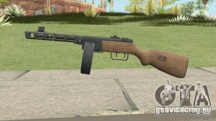 PPSH-41 (A.V.A) для GTA San Andreas