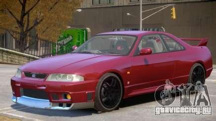 Nissan Skyline R33 V1 для GTA 4