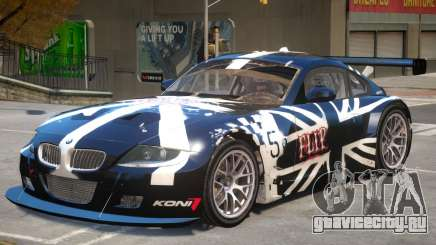 BMW Z4 V1 PJ1 для GTA 4