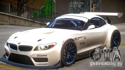 BMW Z4 GT3 V1 для GTA 4