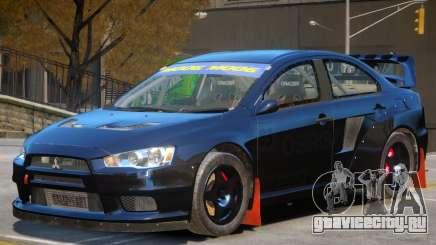 Mitsubishi Lancer Evolution Sport для GTA 4