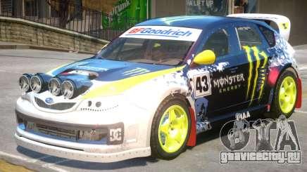Subaru Impreza Drift V1 PJ1 для GTA 4