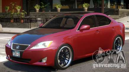 Lexus IS350 R1 для GTA 4