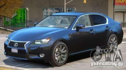 Lexus GS350 Upd для GTA 4
