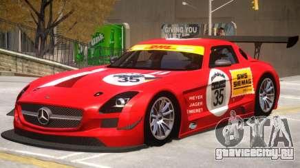 Mercedes Benz SLS GT3 V1 PJ1 для GTA 4