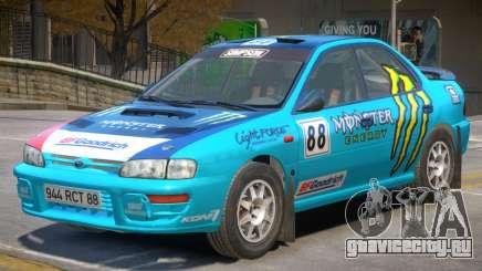 Subaru Impreza Rally Edition V1 PJ4 для GTA 4