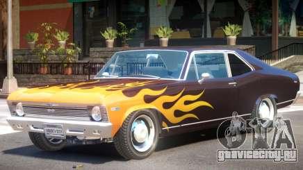 1969 Chevrolet Nova V1 PJ2 для GTA 4