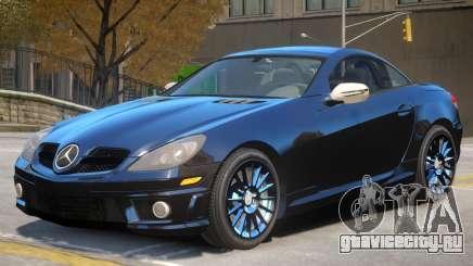 Mercedes Benz SLK 55 V1 для GTA 4